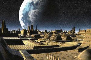 Города пришельцев на Луне